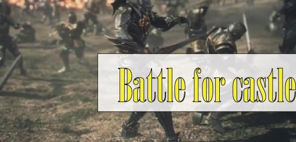 Battle for castle