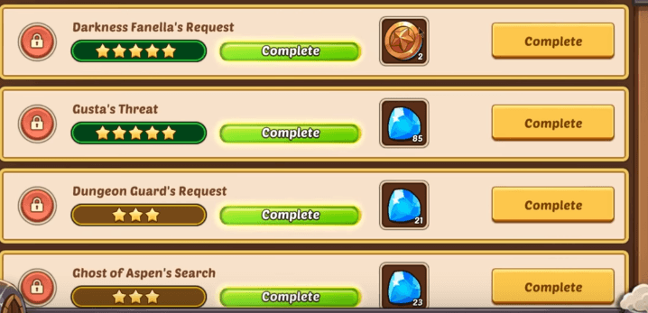 Idle heroes guide and rewards