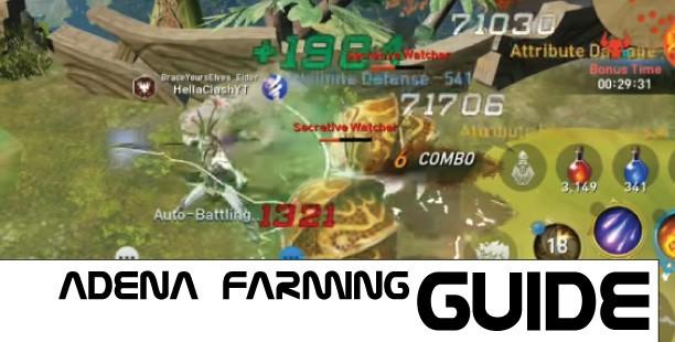 Lineage 2 Revolution Adena Farming Guides
