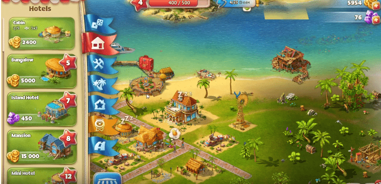 paradise island 2 guide and gameplay