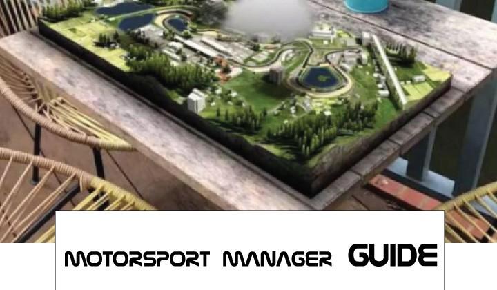 Motorsport manager guides