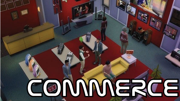 sims 4 guides - Commerce