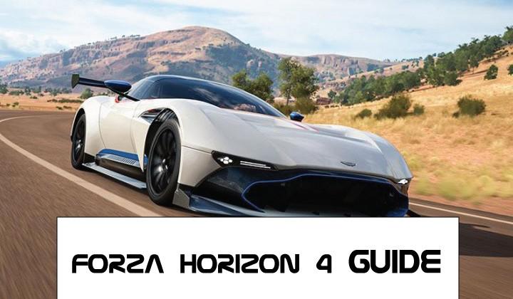 Forza Horizon 4 Guides, Secrets, Tips For Beginners [Best