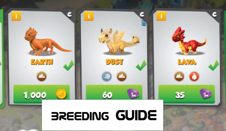 dragon mania legends breeding guide